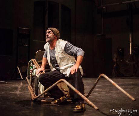 """Jacques Bonnaffé dans """"eune carette"""", sur scène"""