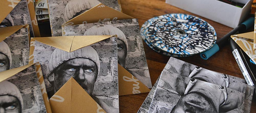 CD et enveloppes  pour l'expédition